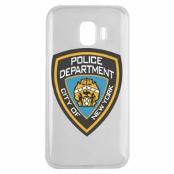Чехол для Samsung J2 2018 New York Police Department