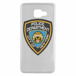 Чехол для Samsung A7 2016 New York Police Department