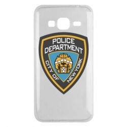Чехол для Samsung J3 2016 New York Police Department