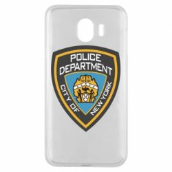 Чехол для Samsung J4 New York Police Department