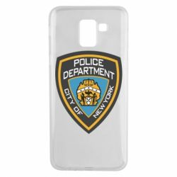 Чехол для Samsung J6 New York Police Department