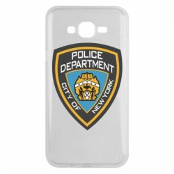 Чехол для Samsung J7 2015 New York Police Department