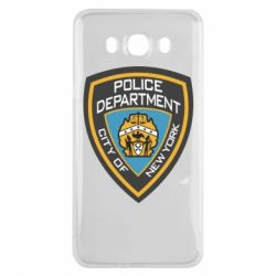 Чехол для Samsung J7 2016 New York Police Department