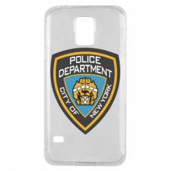 Чехол для Samsung S5 New York Police Department