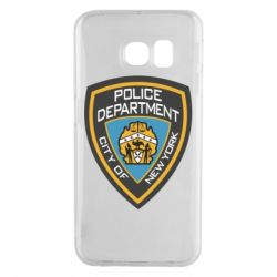 Чехол для Samsung S6 EDGE New York Police Department