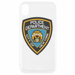 Чехол для iPhone XR New York Police Department