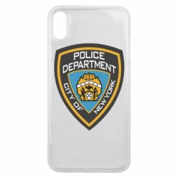 Чехол для iPhone Xs Max New York Police Department