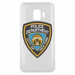 Чехол для Samsung J2 Core New York Police Department