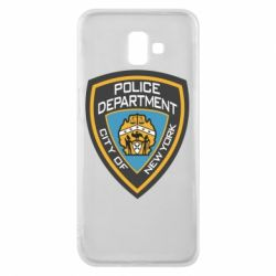 Чехол для Samsung J6 Plus 2018 New York Police Department