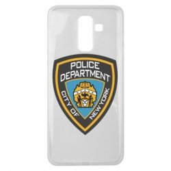 Чехол для Samsung J8 2018 New York Police Department