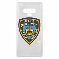 Чехол для Samsung Note 9 New York Police Department