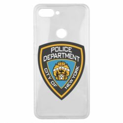 Чехол для Xiaomi Mi8 Lite New York Police Department