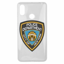 Чехол для Xiaomi Mi Max 3 New York Police Department