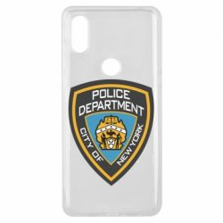 Чехол для Xiaomi Mi Mix 3 New York Police Department