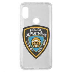 Чехол для Xiaomi Redmi Note 6 Pro New York Police Department