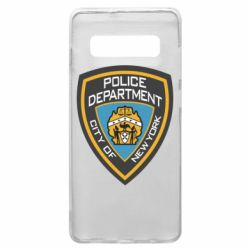 Чехол для Samsung S10+ New York Police Department