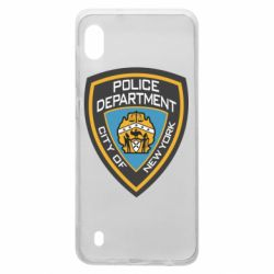 Чехол для Samsung A10 New York Police Department