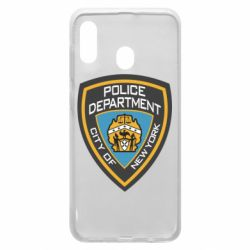 Чехол для Samsung A20 New York Police Department