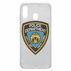 Чохол для Samsung A30 New York Police Department