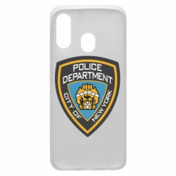 Чехол для Samsung A40 New York Police Department