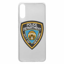 Чехол для Samsung A70 New York Police Department