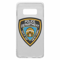 Чехол для Samsung S10e New York Police Department