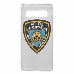 Чохол для Samsung S10 New York Police Department