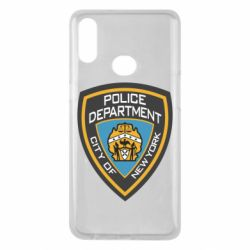 Чехол для Samsung A10s New York Police Department