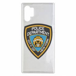 Чехол для Samsung Note 10 Plus New York Police Department