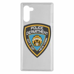 Чехол для Samsung Note 10 New York Police Department