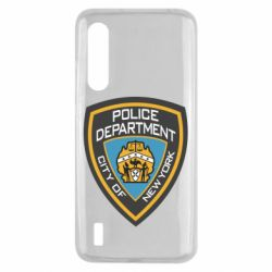 Чехол для Xiaomi Mi9 Lite New York Police Department