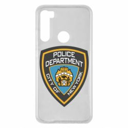 Чехол для Xiaomi Redmi Note 8 New York Police Department