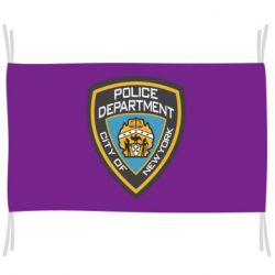 Флаг New York Police Department