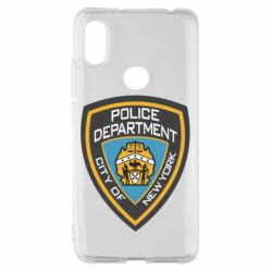 Чехол для Xiaomi Redmi S2 New York Police Department