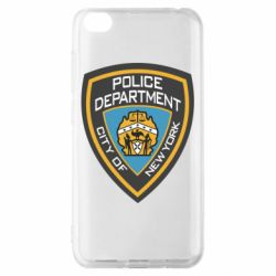 Чехол для Xiaomi Redmi Go New York Police Department