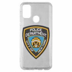 Чехол для Samsung M30s New York Police Department