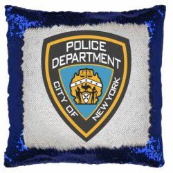 Подушка-хамелеон New York Police Department