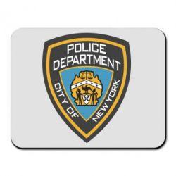 Килимок для миші New York Police Department
