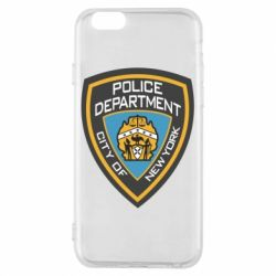 Чехол для iPhone 6/6S New York Police Department