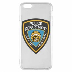 Чехол для iPhone 6 Plus/6S Plus New York Police Department