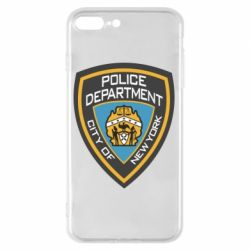 Чехол для iPhone 8 Plus New York Police Department