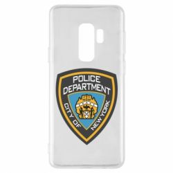 Чехол для Samsung S9+ New York Police Department