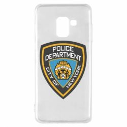 Чехол для Samsung A8 2018 New York Police Department
