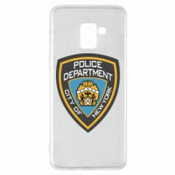 Чехол для Samsung A8+ 2018 New York Police Department
