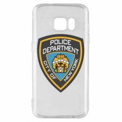 Чехол для Samsung S7 New York Police Department
