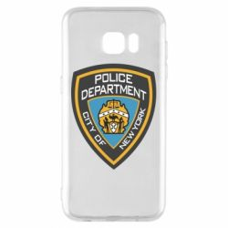 Чехол для Samsung S7 EDGE New York Police Department
