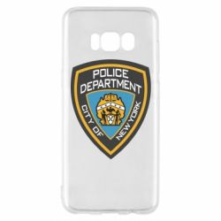 Чехол для Samsung S8 New York Police Department