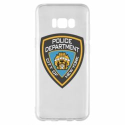 Чехол для Samsung S8+ New York Police Department