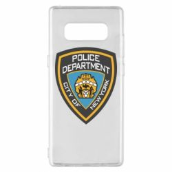 Чехол для Samsung Note 8 New York Police Department