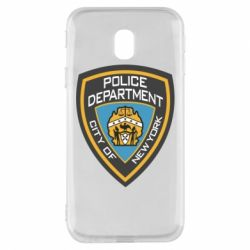 Чехол для Samsung J3 2017 New York Police Department